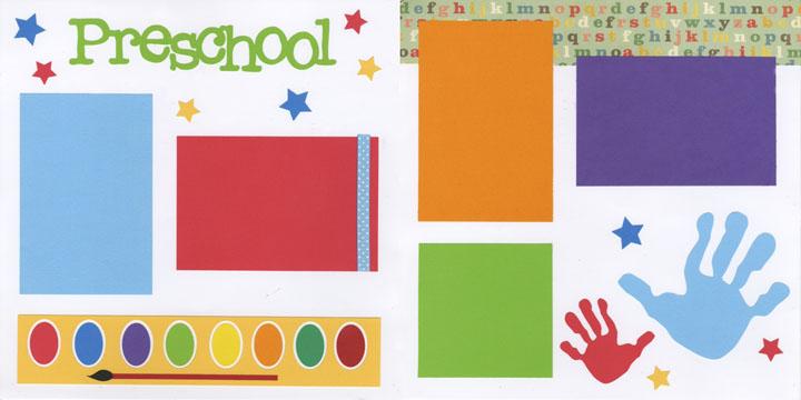 Preschool Page Kit