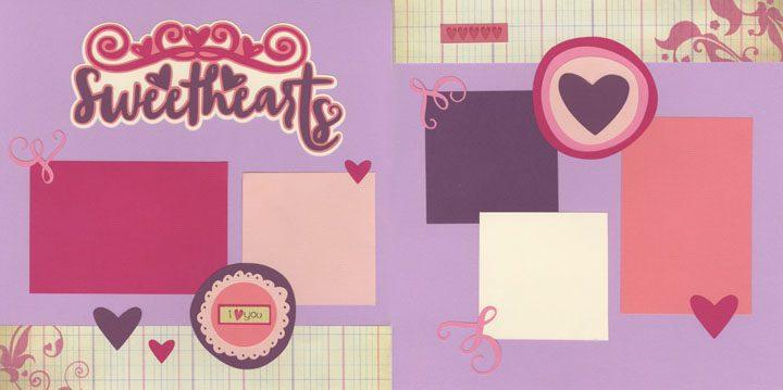 Sweethearts Page Kit