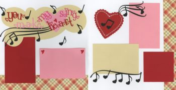 You Make My Heart Sing ! Page Kit