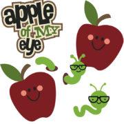 Apple Of My Eye Cutouts