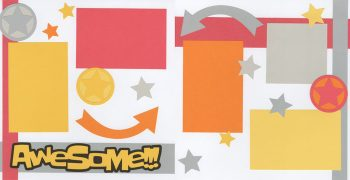 Awesome!!! - Girl Page Kit