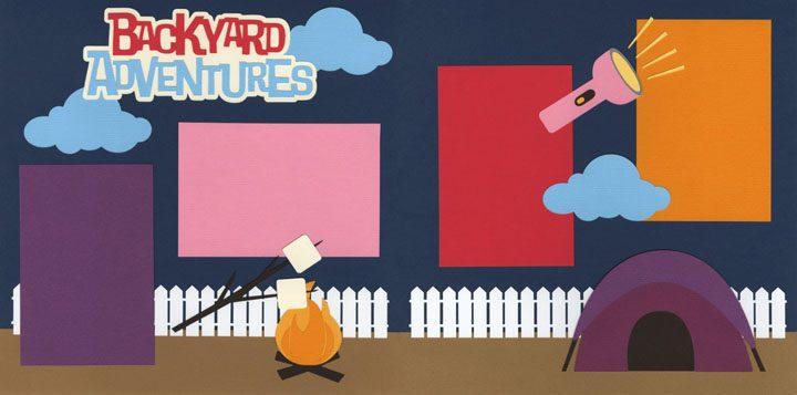 Backyard Adventures - Girl Page Kit