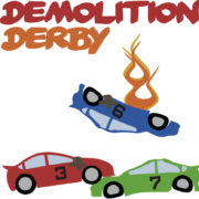 Demoliton Derby Cutouts