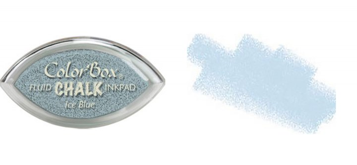Fluid Chalk Cat's Eye Inkpad - Ice Blue