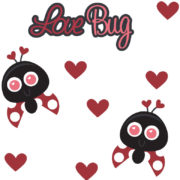 Love Bug Cutouts