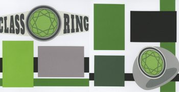 PRE-MADE Class Ring - Green
