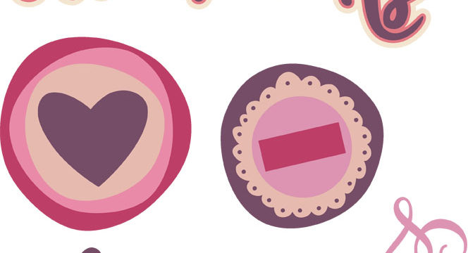 Sweethearts Cutouts
