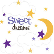 Sweet Dreams - Girl Cutouts