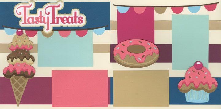 Tasty Treats Page Kit