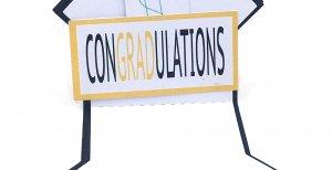 graduation cap open